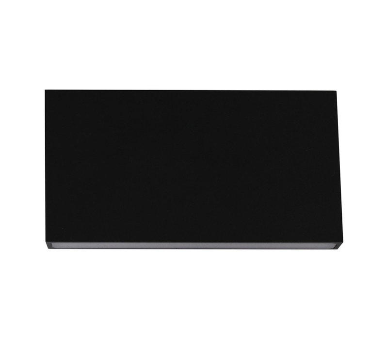 Wandlamp Box L 17 cm H 9 cm zwart