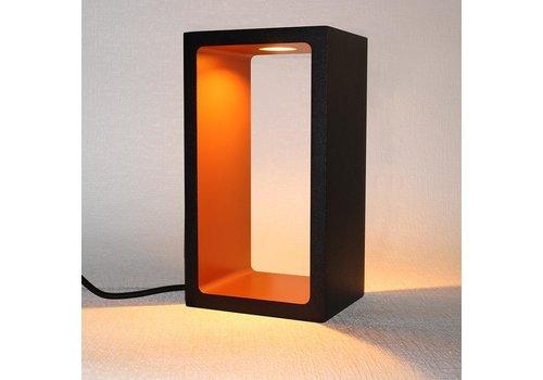 Artdelight Tafellamp Corrridor H 18 cm B 10 cm zwart-goud