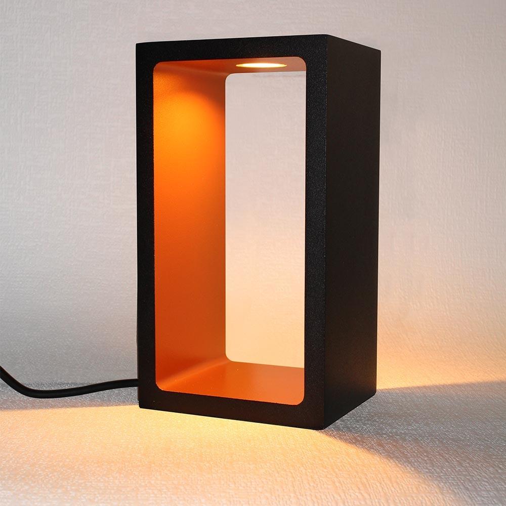 Artdelight Tafellamp Corridor H 18 cm B 10 cm zwart-goud