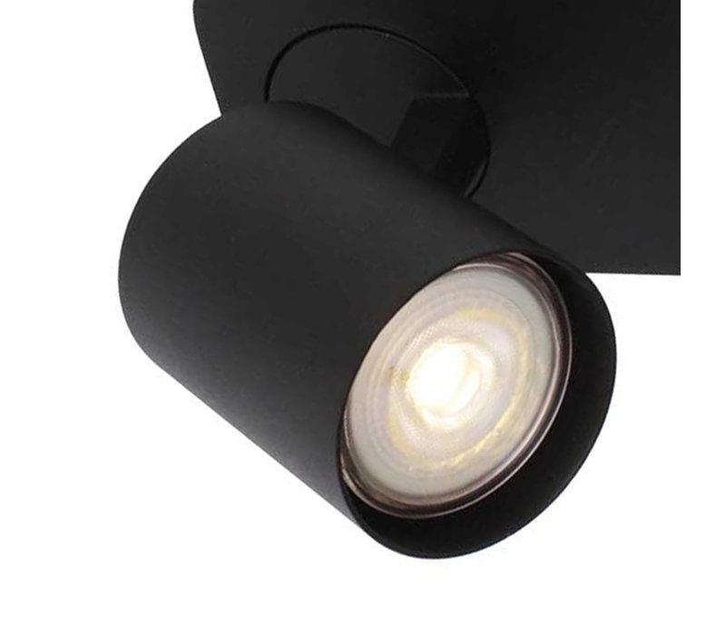 Spot Vivaro 2 lichts balk L 32 cm zwart