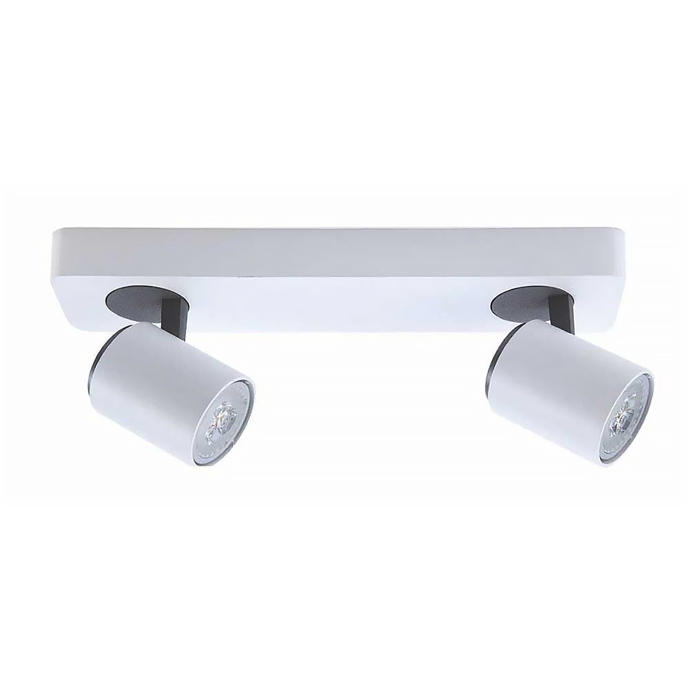 Artdelight Spot Vivaro 3 lichts balk L 54 cm wit