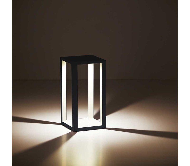 Buitenlamp Kenton H 40 cm B 20 cm zwart