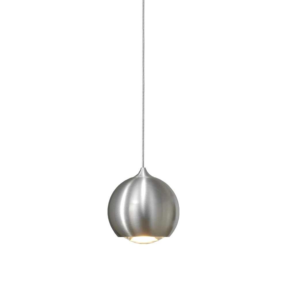 Artdelight Hanglamp Denver 1 lichts Ø 10 cm mat chroom