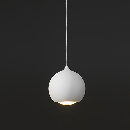 Artdelight Hanglamp Denver 1 lichts Ø 10 cm wit