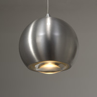 Hanglamp Denver 3 lichts Ø 10 cm L 100 cm mat chroom