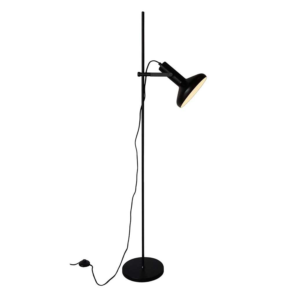 Artdelight Vloerlamp Vectro H 151 cm zwart