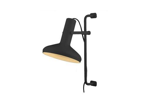 Artdelight Wandlamp Vectro H 52 cm zwart