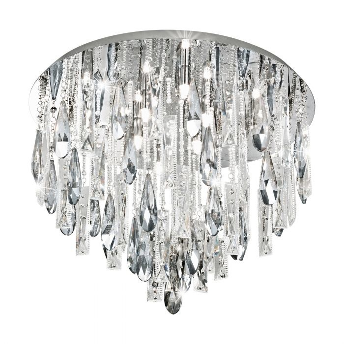 Eglo Plafondlamp Calonda Ø 58 cm chroom