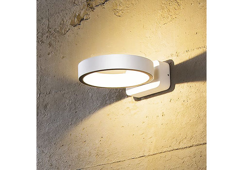 Artdelight Wandlamp Nimbus rond wit