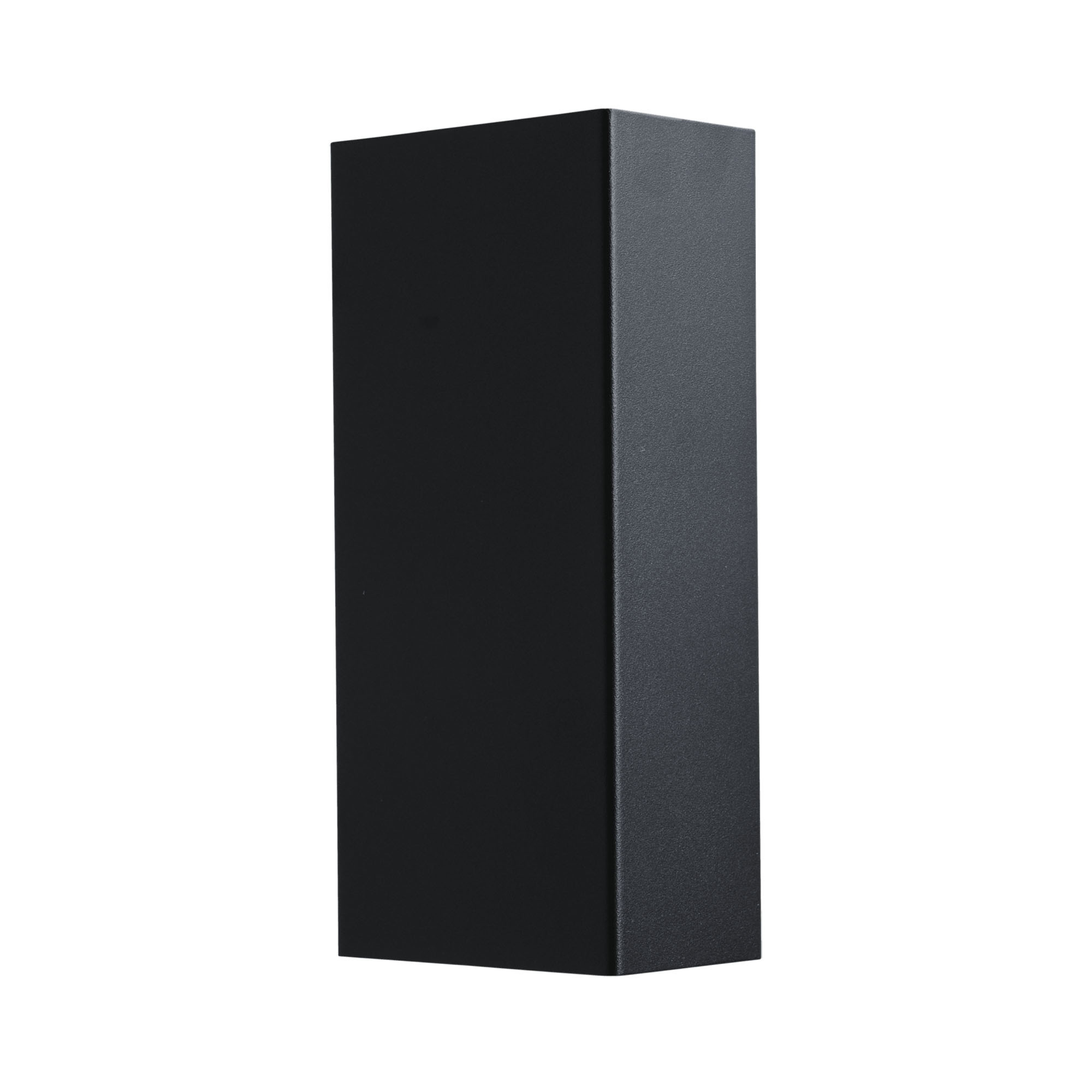 Masterlight Wandlamp Metallico H 22 cm B 10 cm zwart