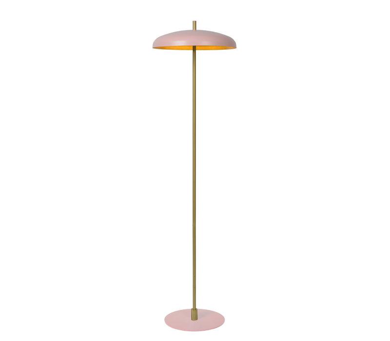 ELGIN Vloerlamp 3xG9/20W Roos/ Goud