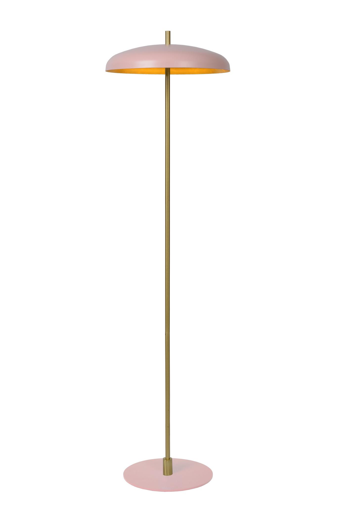 Lucide ELGIN Vloerlamp-Roze-Ø38-3xG9-20W-Metaal