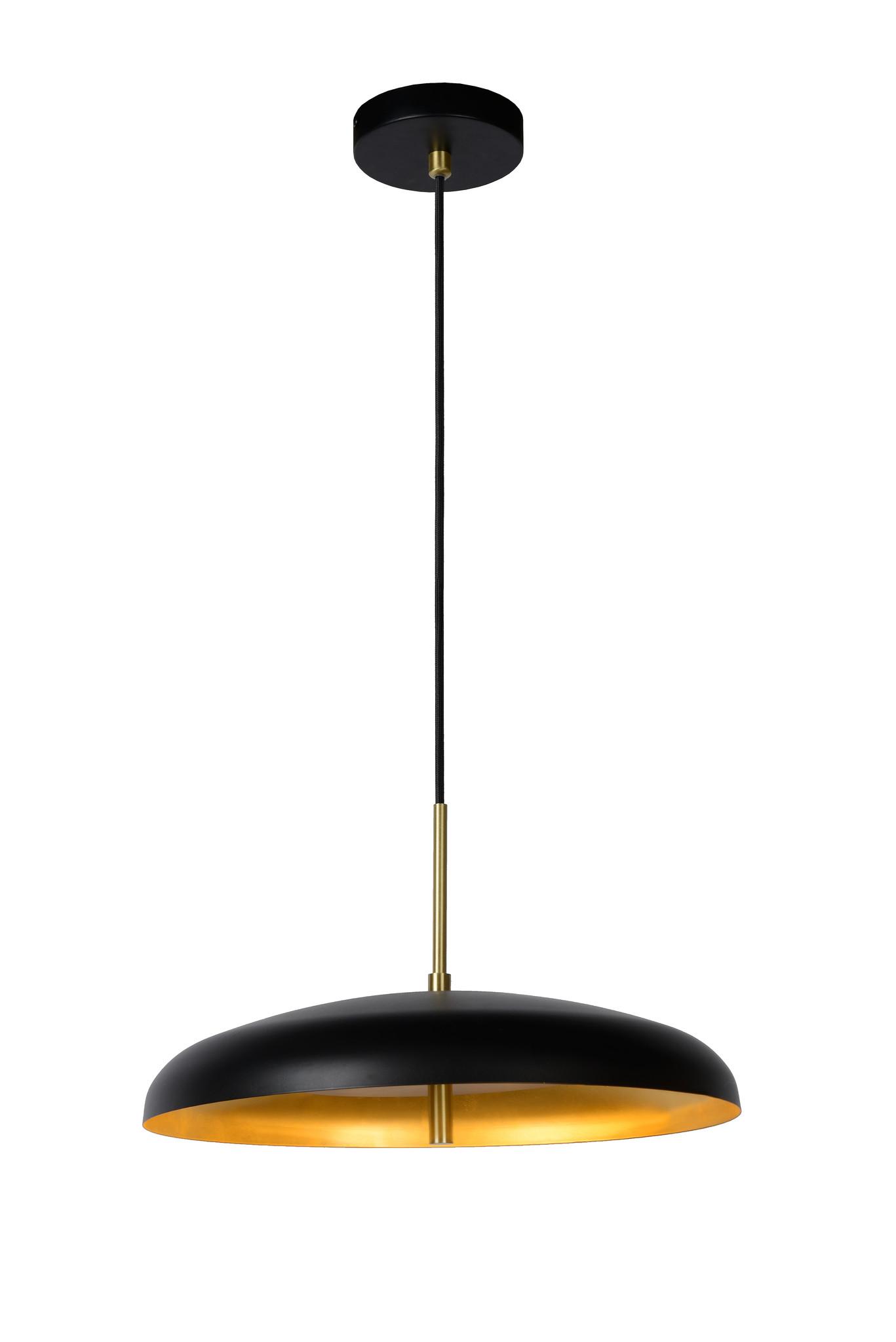 Lucide ELGIN Hanglamp-Zwart-Ø38-3xG9-20W-Metaal