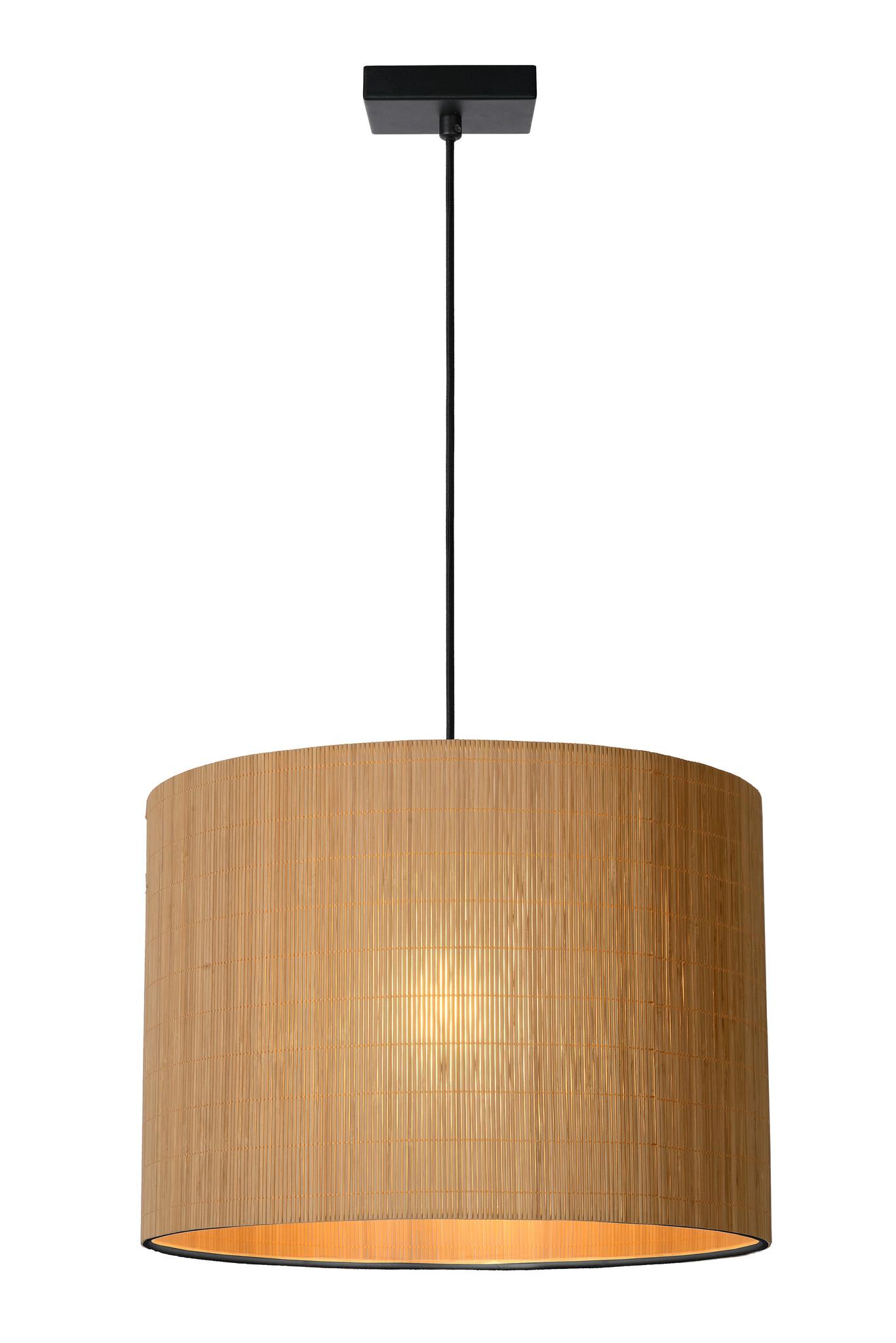 Lucide MAGIUS Hanglamp-Licht .-Ø42-1xE27-40W-Rotan