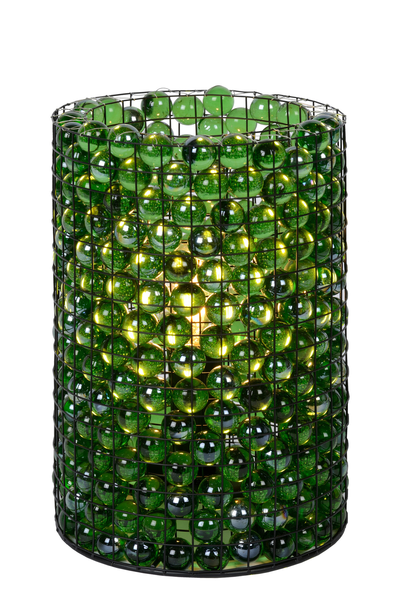 Lucide MARBELO. Tafellamp-Groen-Ø15-1xE14-40W-Glas