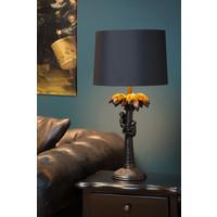COCONUT Tafellamp E27/40W H50cm Zwart