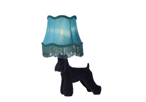 Lucide FILOU Tafellamp E14/40W H50cm Zwart / Blauw