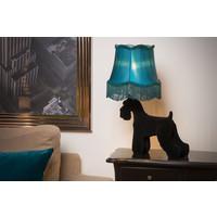 FILOU Tafellamp E14/40W H50cm Zwart / Blauw