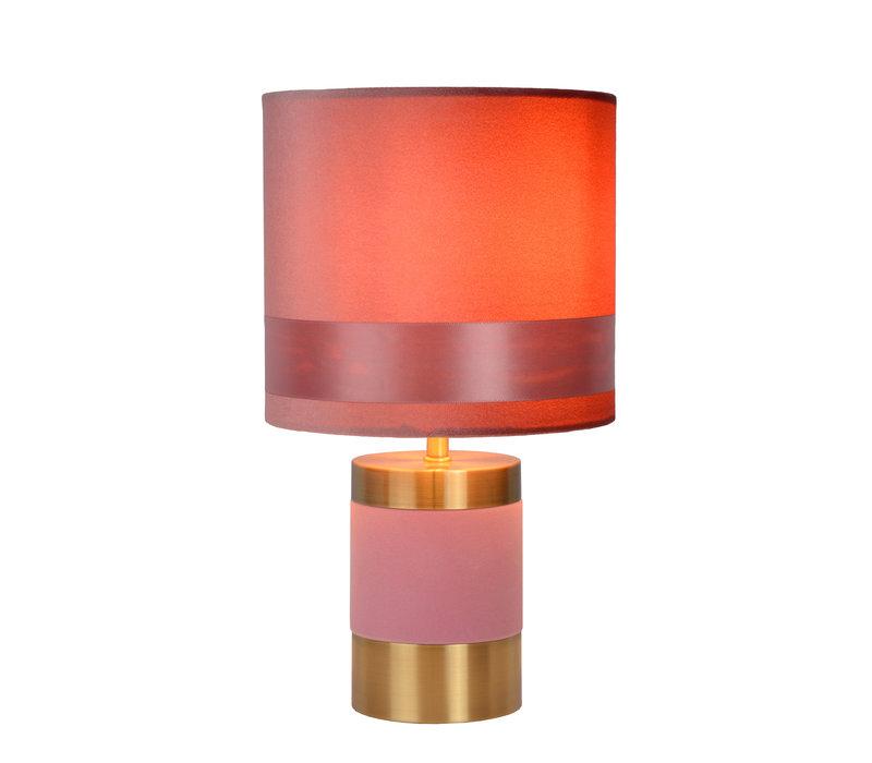 FRIZZLE Tafellamp E14/40W H32cm Roze