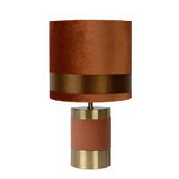 FRIZZLE Tafellamp E14/40W H32cm Bruin
