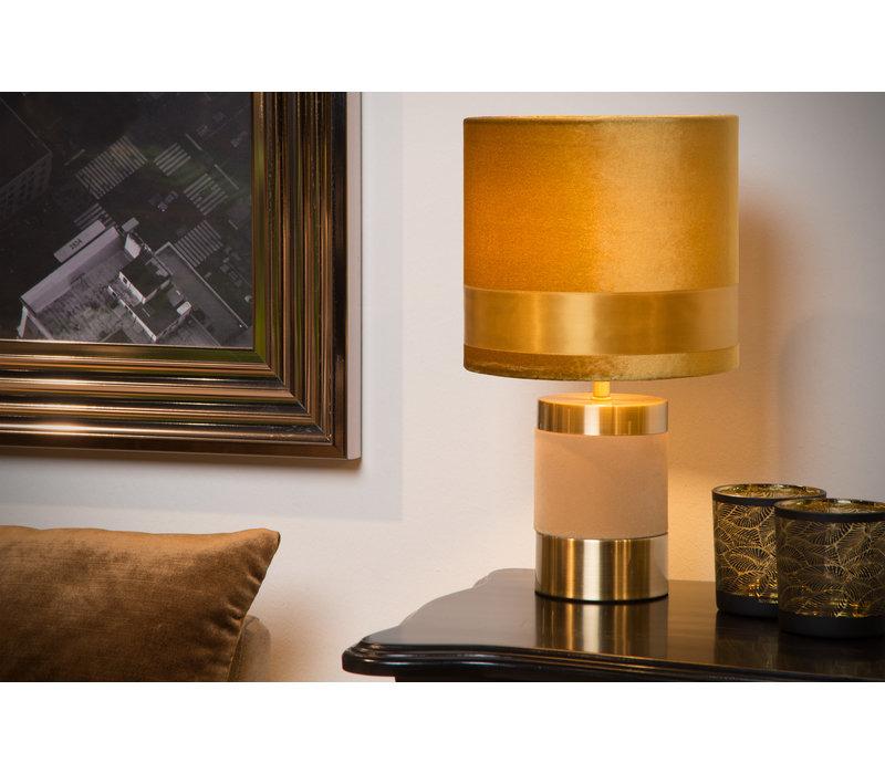 FRIZZLE Tafellamp E14/40W H32cm Oker