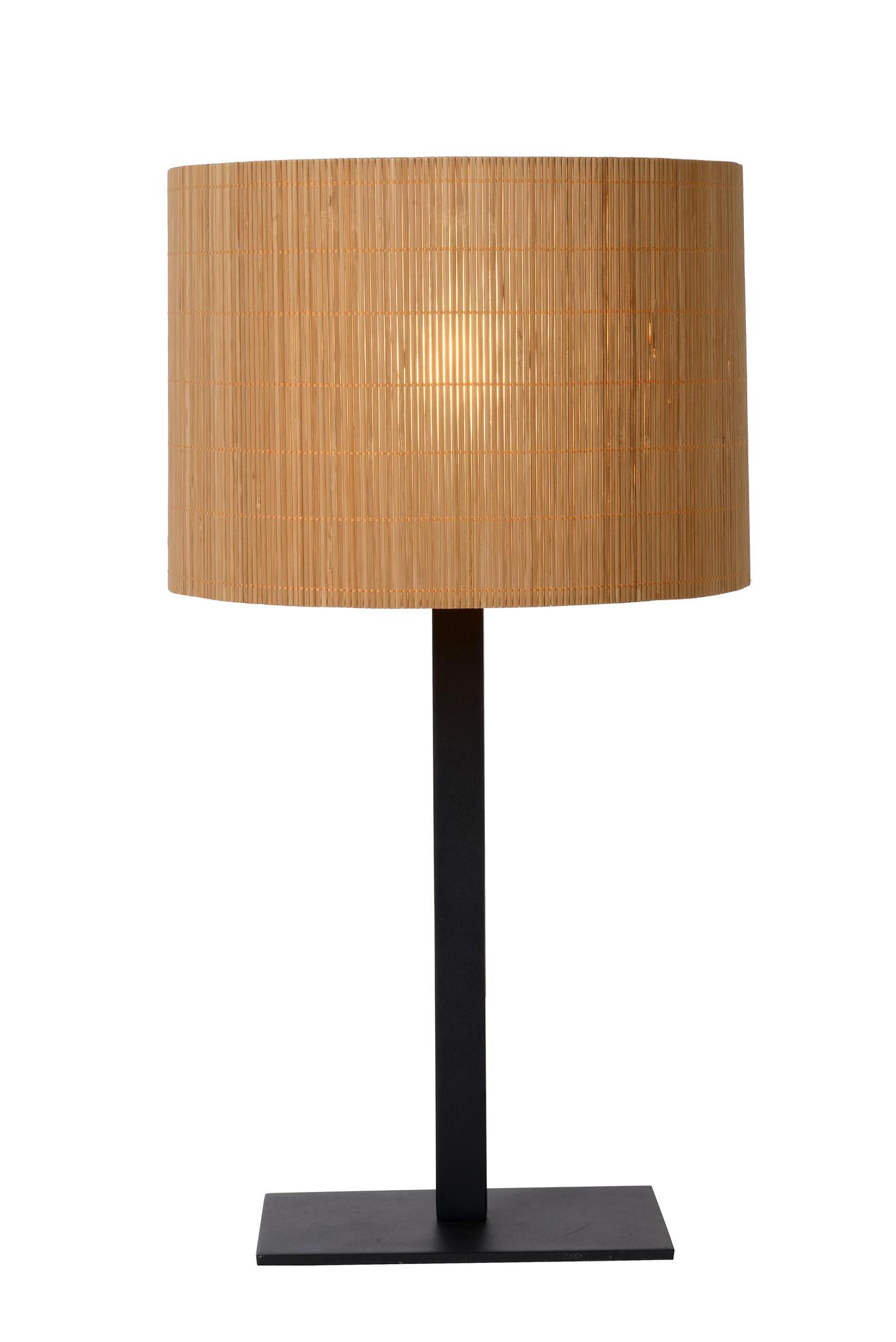 Lucide MAGIUS Tafellamp-Licht .-Ø28-1xE27-40W-Rotan