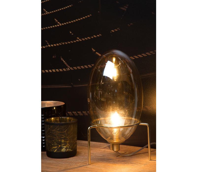 BELLISTER Tafellamp G9/20W Amber glas
