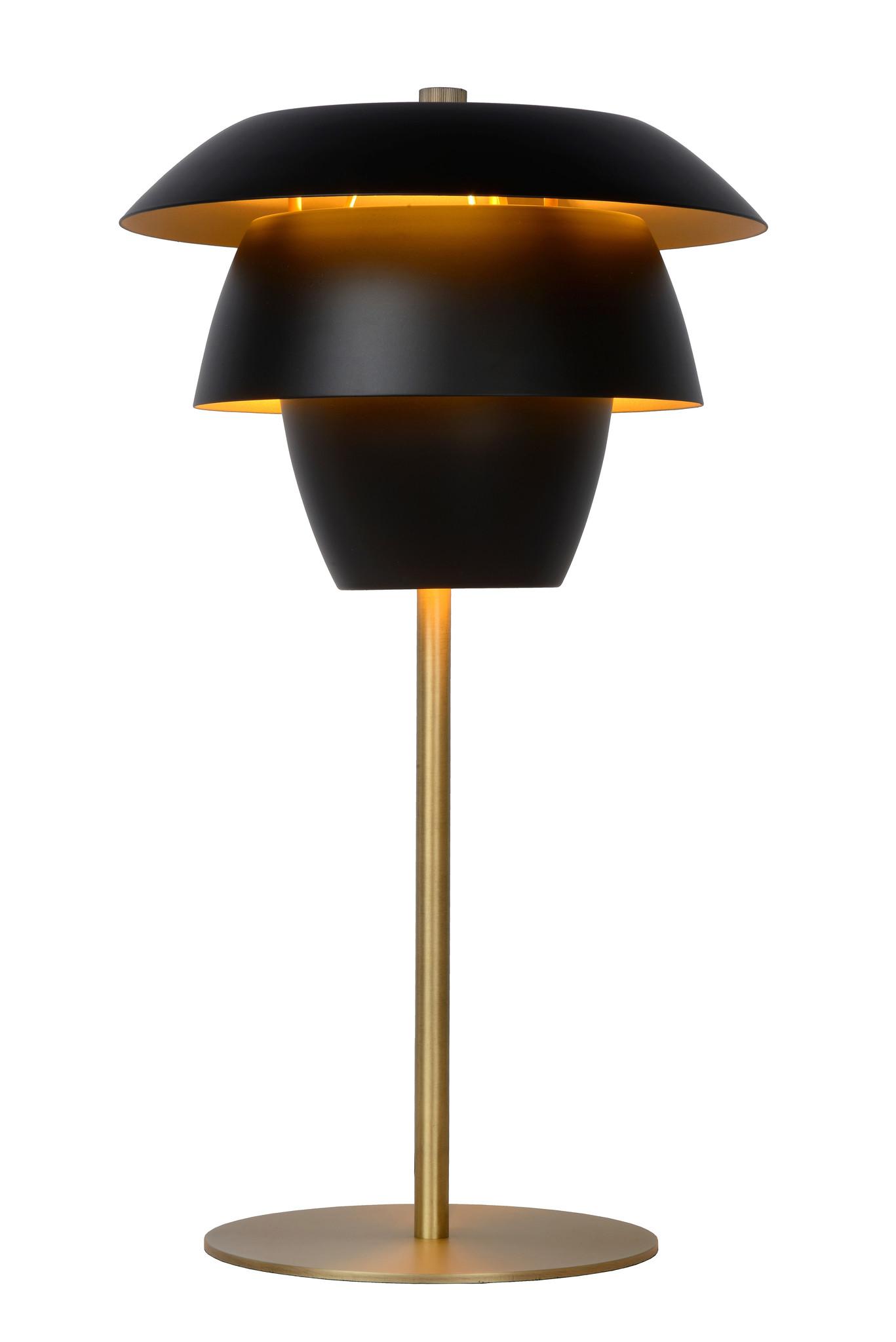 Lucide JERICHO Tafellamp E14/25W Zwart