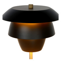 JERICHO Tafellamp E14/25W Zwart