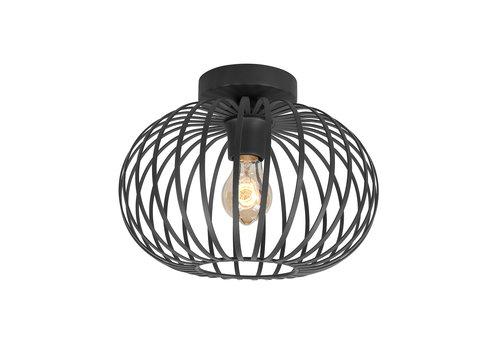 Highlight Plafondlamp Bolato Ø 30 cm zwart