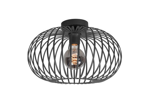 Highlight Plafondlamp Bolato Ø 38 cm zwart