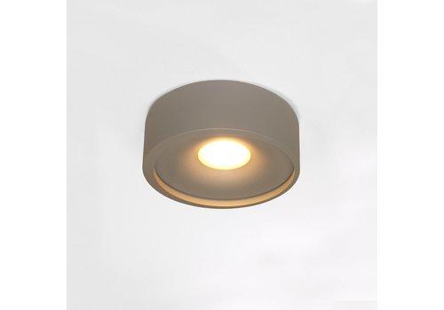 Artdelight Plafondlamp Orlando  Ø 14 cm grijs