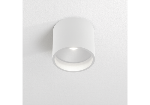 Artdelight Plafondlamp Orleans  Ø 11 cm H 10 cm wit