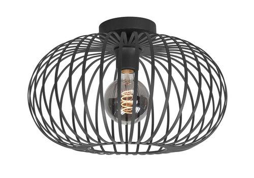 Highlight Plafondlamp Bolato Ø 50 cm zwart