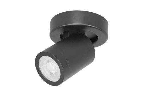 Highlight Spot Oliver 1 lichts badkamer IP44 zwart