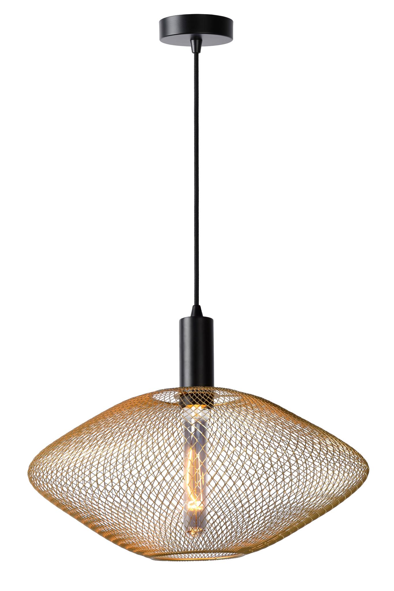 Lucide MESH Hanglamp E27/40W Goud