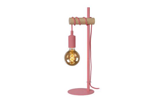Lucide PAULIEN Tafellamp 1xE27 60W Roze