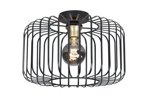Highlight Plafondlamp Lucca Ø 40 cm zwart
