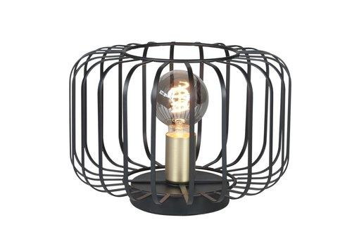 Highlight Tafellamp Lucca Ø 30 cm zwart