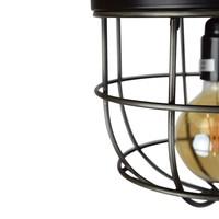 Plafondlamp Barn Large Ø 22 cm zwart
