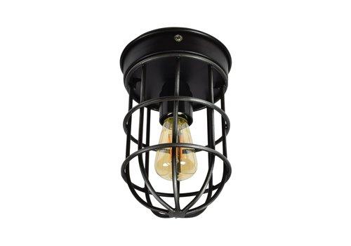 Urban Interiors Plafondlamp Barn Ø 12 cm zwart