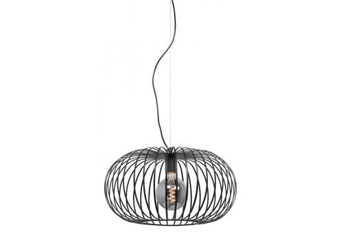 Highlight Hanglamp Bolato Ø 50 cm zwart