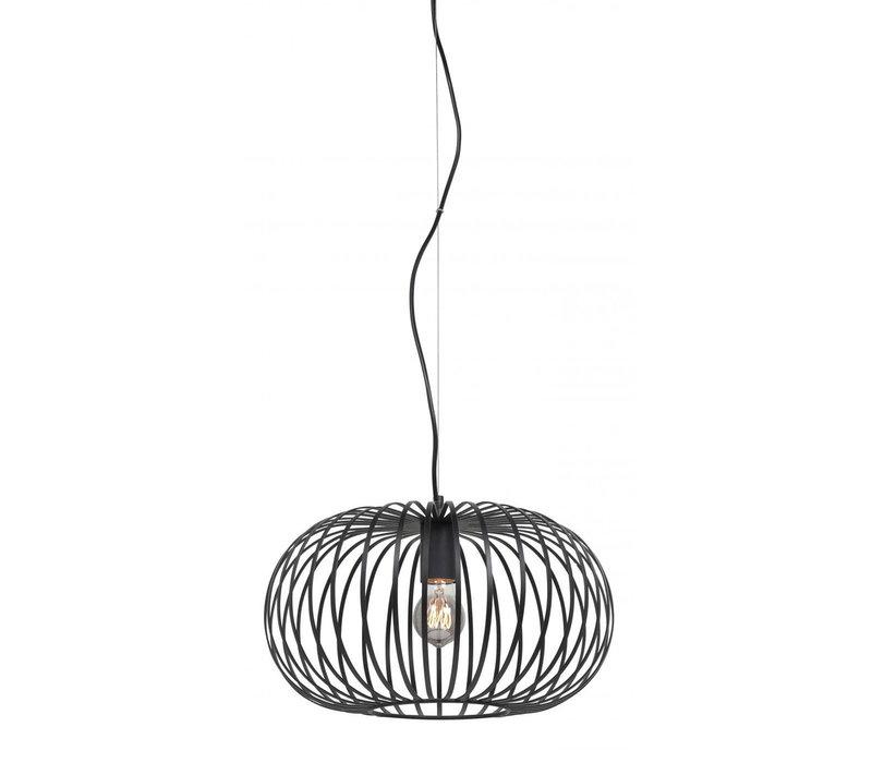 Hanglamp Bolato Ø 40 cm zwart