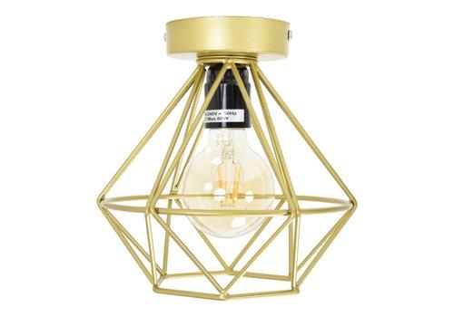 Urban Interiors Plafondlamp Wire Ø 22 cm Mat-goud
