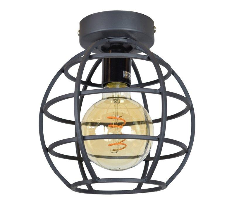 Plafondlamp Globe small Ø 19 cm Zwart