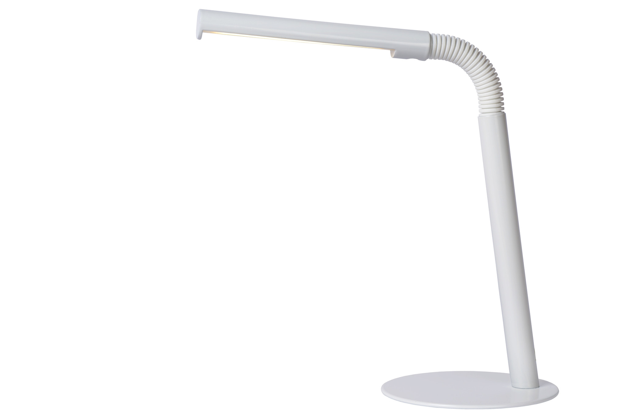 Lucide GILLY Bureaulamp-Wit-LED-3W-2700K-Metaal