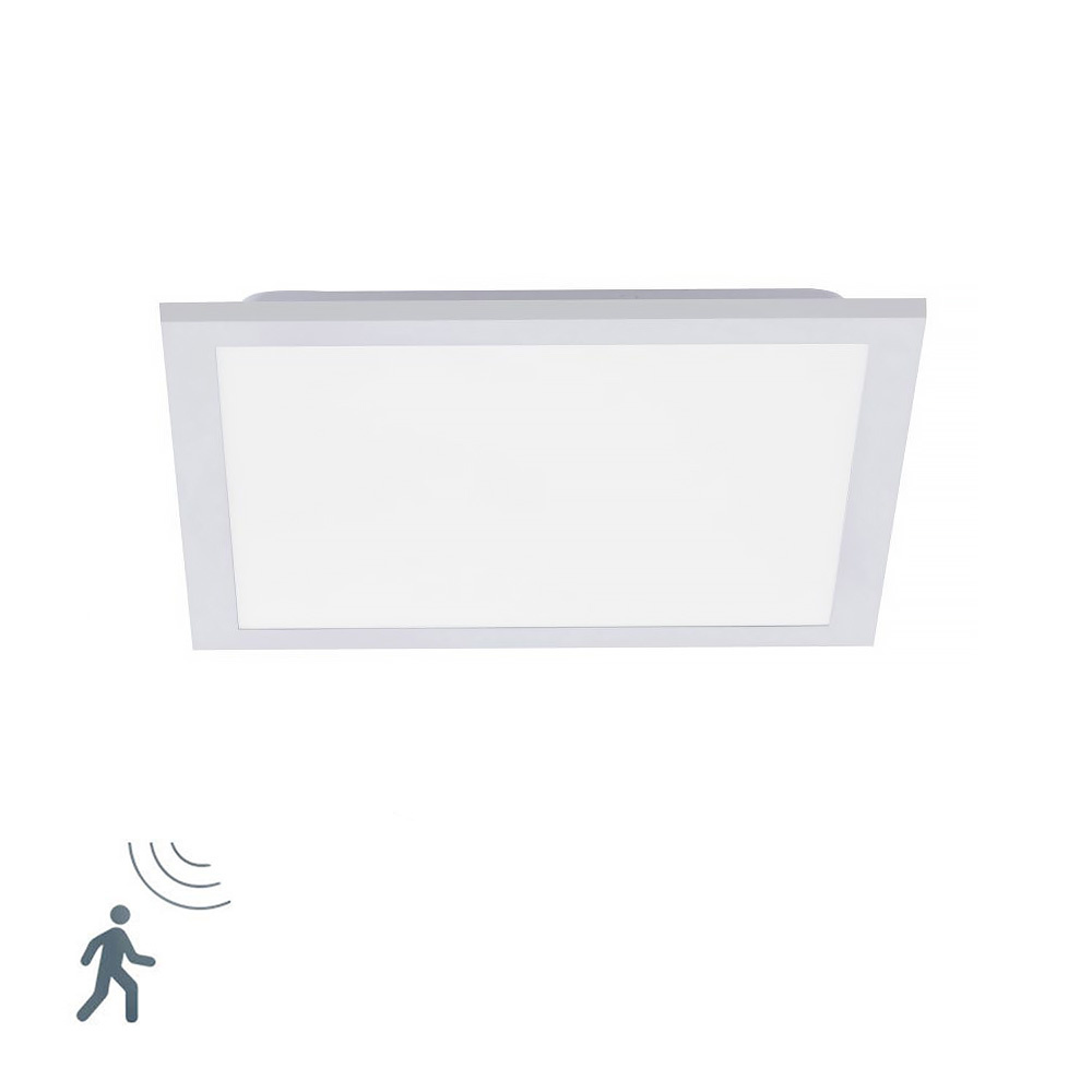 Paul Neuhaus Plafondlamp Fleet Sensor koel-wit B 30 cm wit