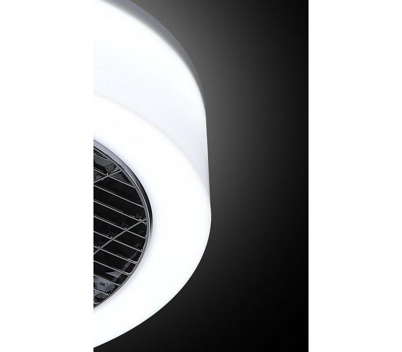 Plafondventilator No. 5 Ø 40 cm  Antraciet-rand wit