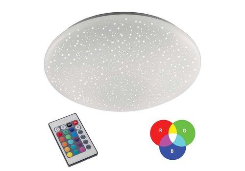 Paul Neuhaus Plafondlamp Skyler remote Ø 39 cm RGB + wit