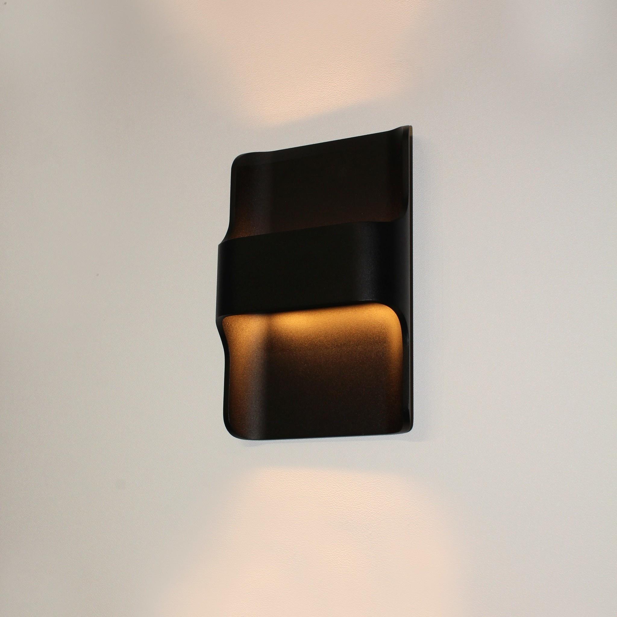 Artdelight Wandlamp Dallas zwart